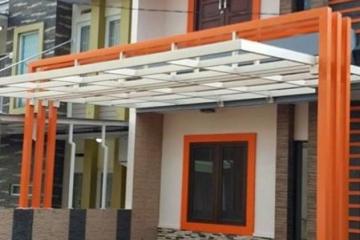 jasa pembuatan canopy Surabaya murah tiang besi wf