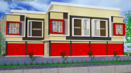 Gambar Bangunan Rumah Mewah Mojokerto