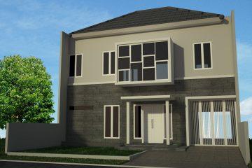 Jasa Desain Gambar Rumah Mewah 2 Lantai Surabaya