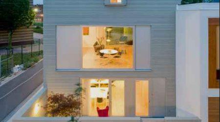 bangunan geometris jasa desain rumah minimalis modern