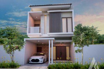 desain rumah 2 lantai sederhana