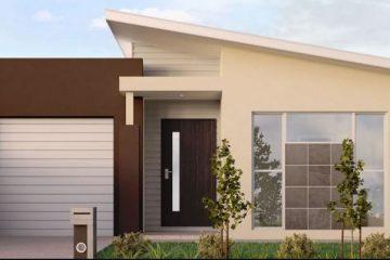 fasad rumah minimalis kekinian
