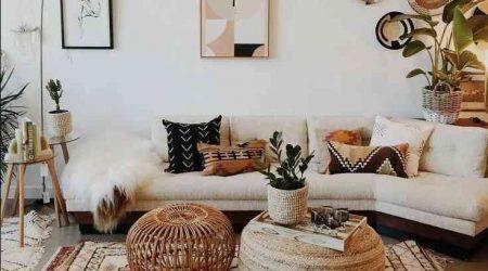 jasa desain interior rumah murah bohemian