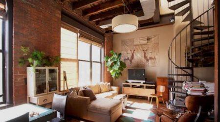 jasa desain online interior rustic