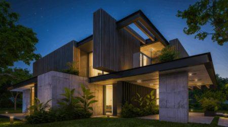 jasa desain online rumah modern