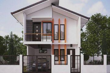 jasa desain rumah minimalis 2 lantai