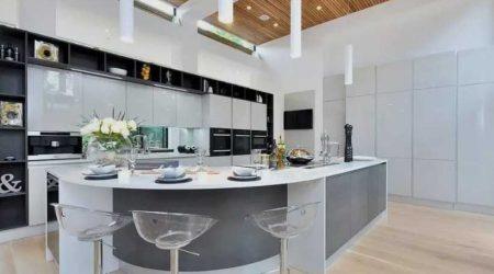 konsep dapur jasa arsitek rumah mewah