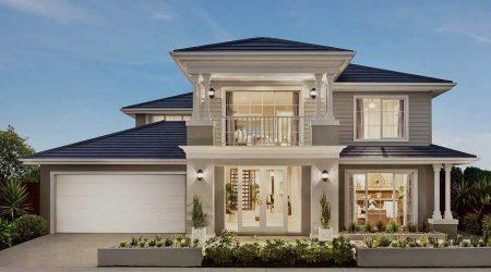 konsep fasad jasa arsitek rumah mewah