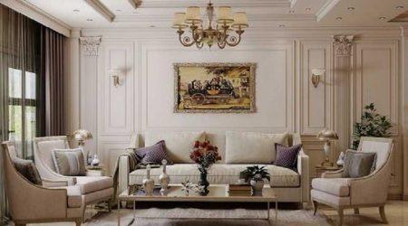 konsep ruang tamu jasa arsitek rumah mewah