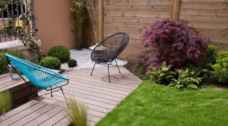 rumah minimalis 2 lantai dengan kebun
