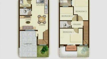 rumah minimalis 2 lantai dengan master bedroom