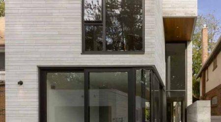 rumah tingkat minimalis kayu dan kaca