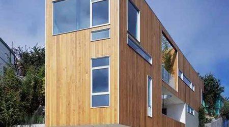 rumah tingkat minimalis persegi panjang
