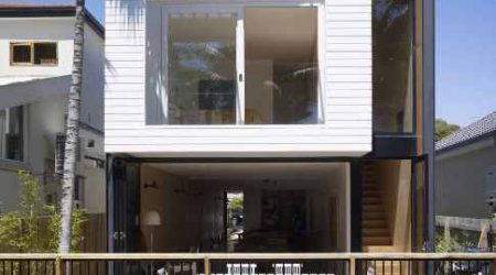 rumah tingkat minimalis rasa cottage